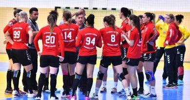 Măgura Cisnădie a fost spulberată la Esbjerg, în Cupa EHF