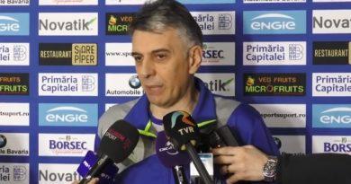 """Exclusiv / Dragan Djukic: """"Cei care ne numără înfrângerile ar trebui să știe că această echipă trebuie să atingă forma maximă atunci când va susține cele mai importante jocuri"""""""