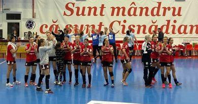 Măgura Cisnădie pierde din nou la scor în Cupa EHF