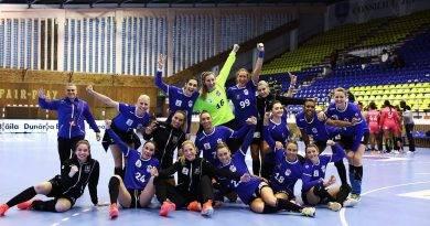 Dunărea Brăila s-a calificat în sferturile Ligii Europene feminine