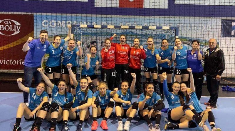 CSM București junioare 1 turneu final